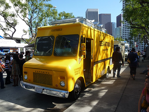 The Gastrobus at LA Street Food Fest