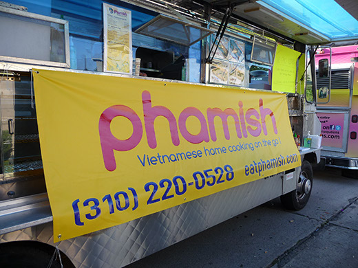 Phamish's new temp truck