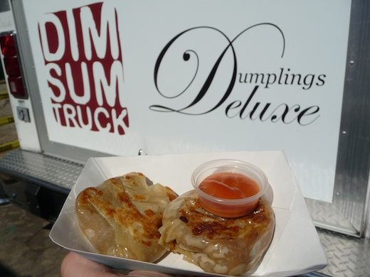 Cheeseburger dumplings from Dim Sum/Dumplings Deluxe