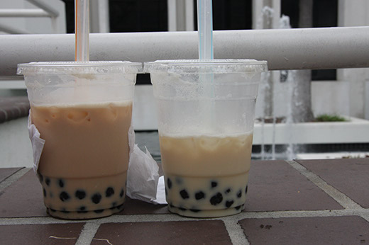 Boba tea from The Mighty Boba Truck