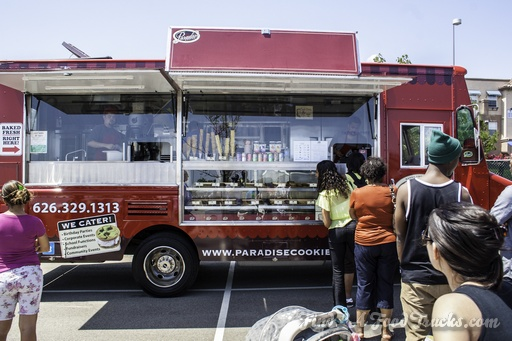 Pardise Cookies LA Food Truck