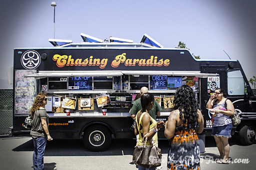 Chaising Paradise LA Food Truck