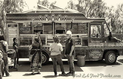 King's Corner on Wheels LA Food Truck