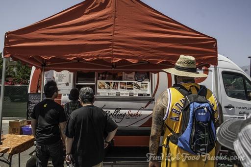 Rolling Sushi Van LA Food Truck