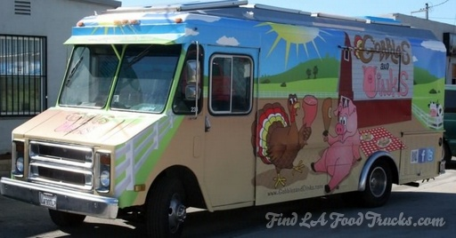 Gobbles and Oink LA Food Truck