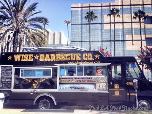 wise bbq LA food truck